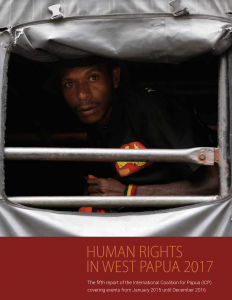 Human Rights in West Papua Report