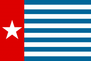 Morning Star flag - West Papua