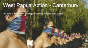 West Papua Action - Canterbury