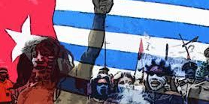 Save West Papua flag